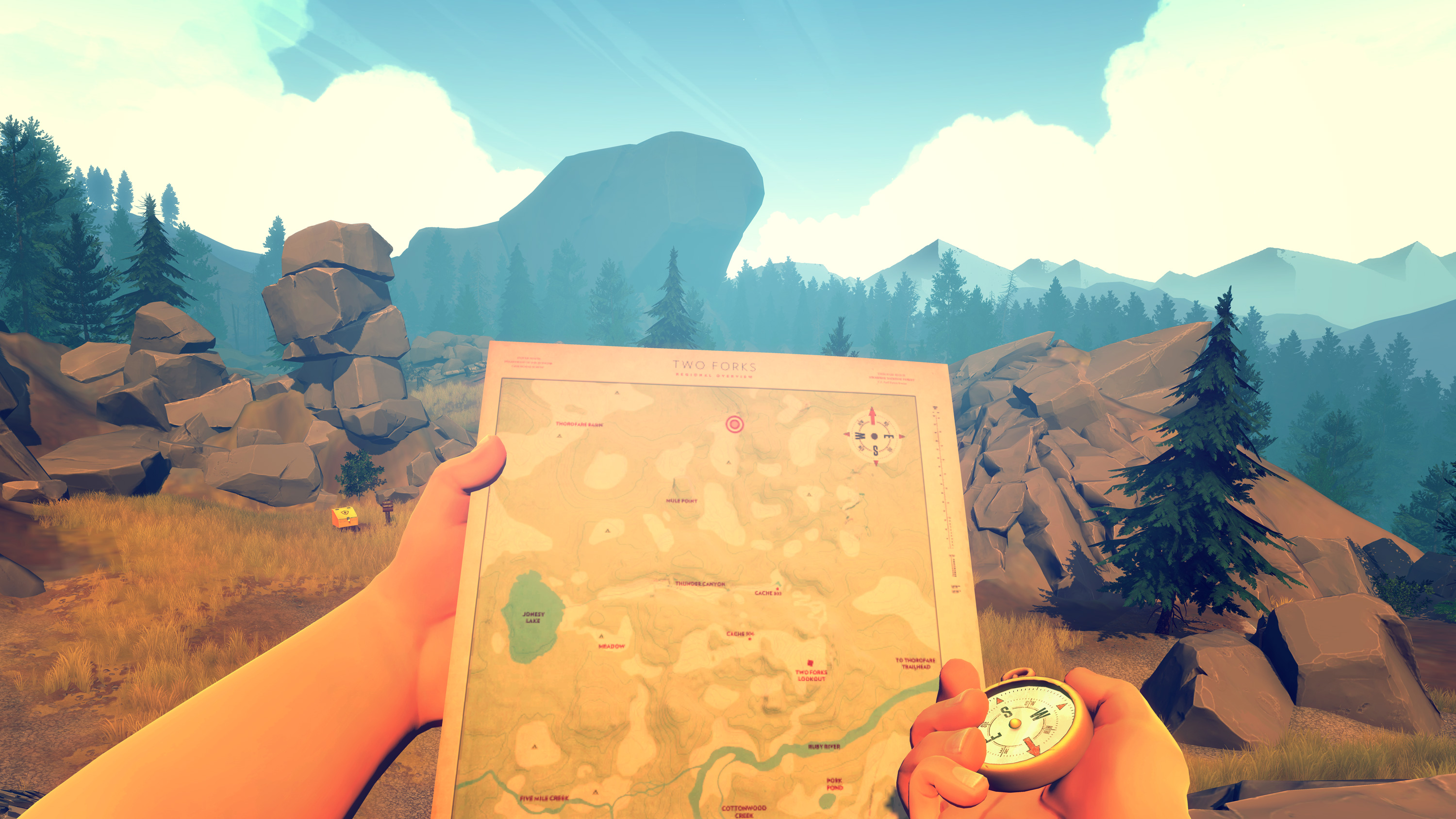 Firewatch PC Game Review Screenshot 3