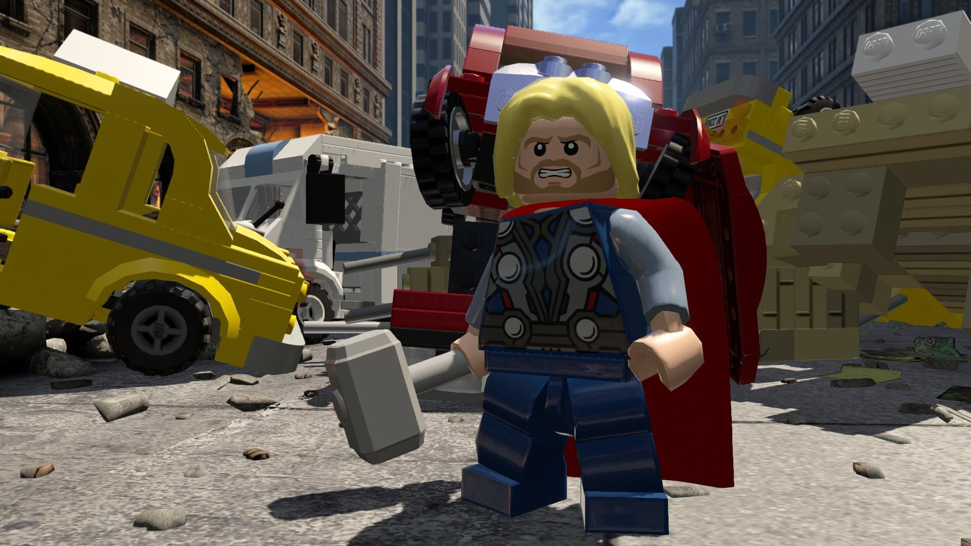 LEGO Marvel's Avengers PS4 Game Review Screenshot 3