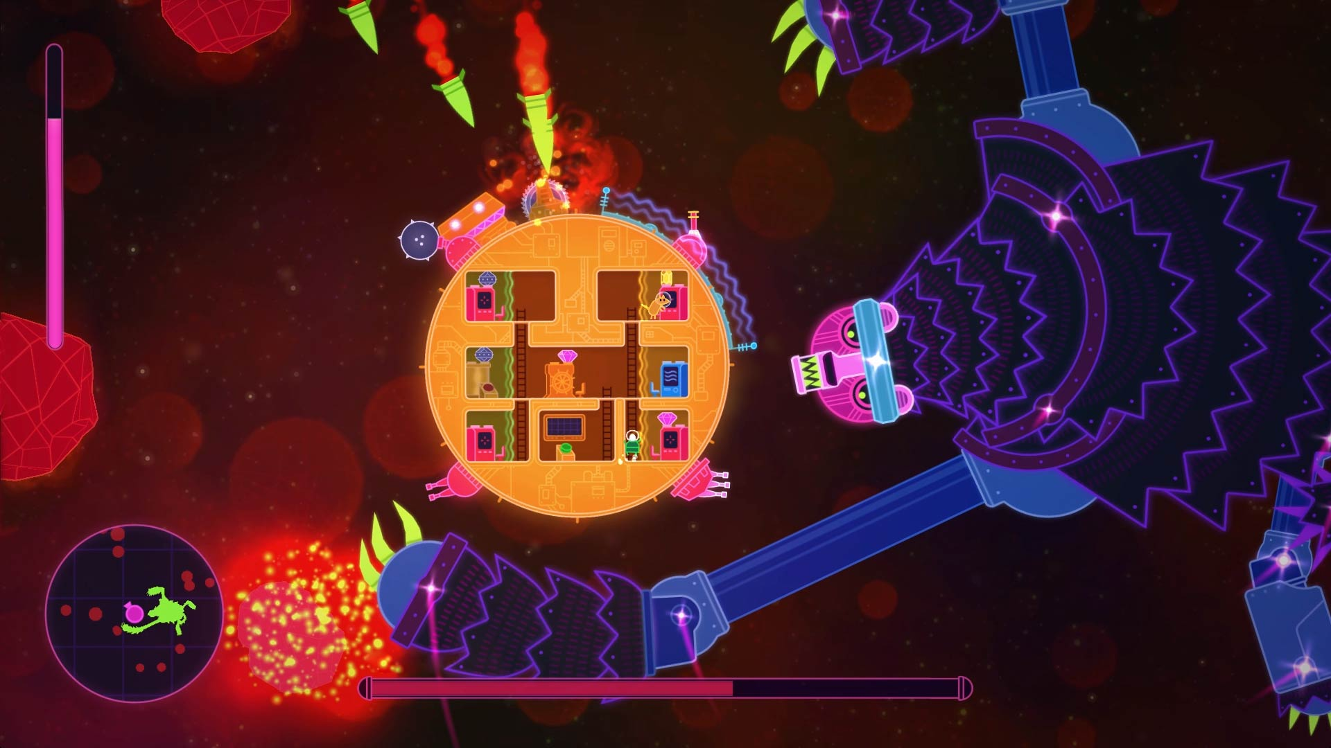 Lovers in a Dangerous Spacetime PS4 Review Screenshot 3