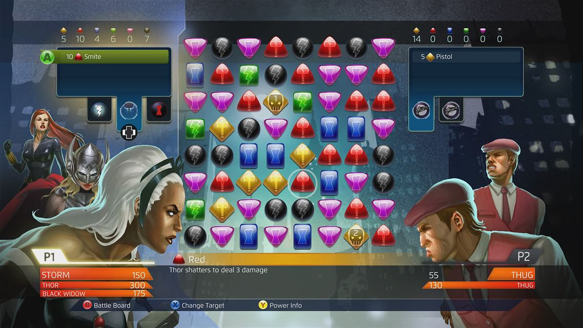 Marvel Puzzle Quest Dark Reign Xbox One Game Review Screenshot 1