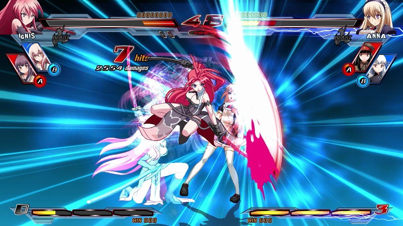 Nitroplus Blasterz Heroines Infinite Duel Review Screenshot 1