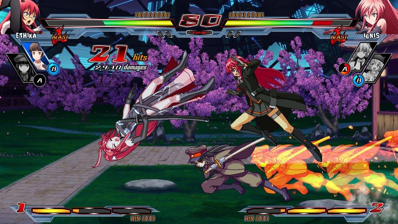 Nitroplus Blasterz Heroines Infinite Duel Review Screenshot 2