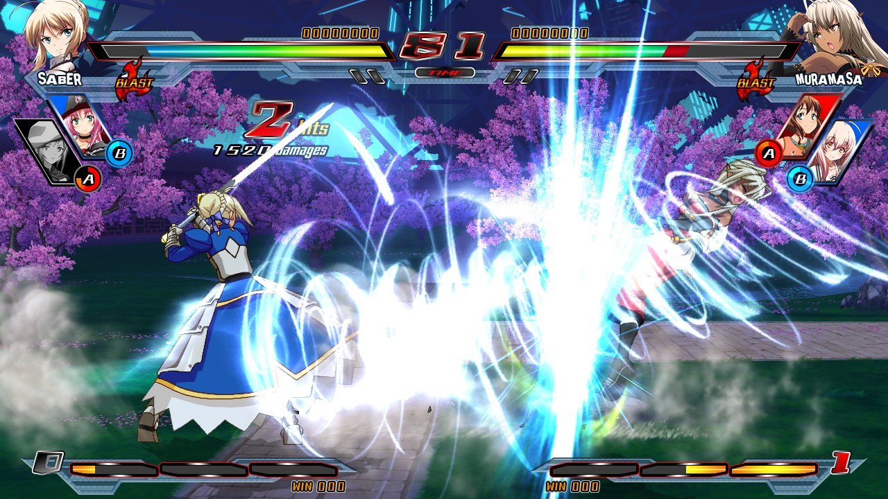 Nitroplus Blasterz Heroines Infinite Duel Review Screenshot 3