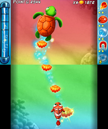 Ocean Runner 3DS Game Review Screenshot 1