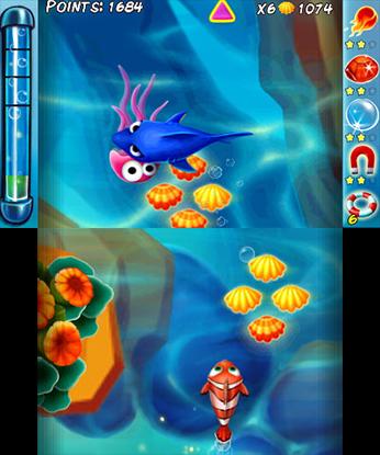 Ocean Runner 3DS Game Review Screenshot 2