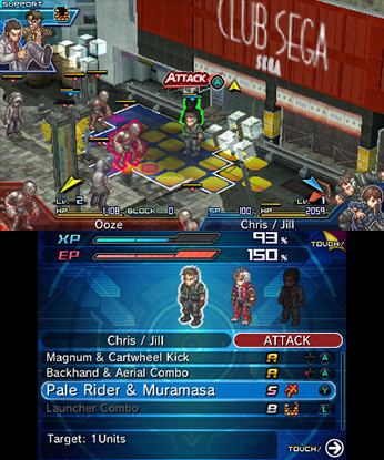 Project X Zone 2 Review Screenshot 1