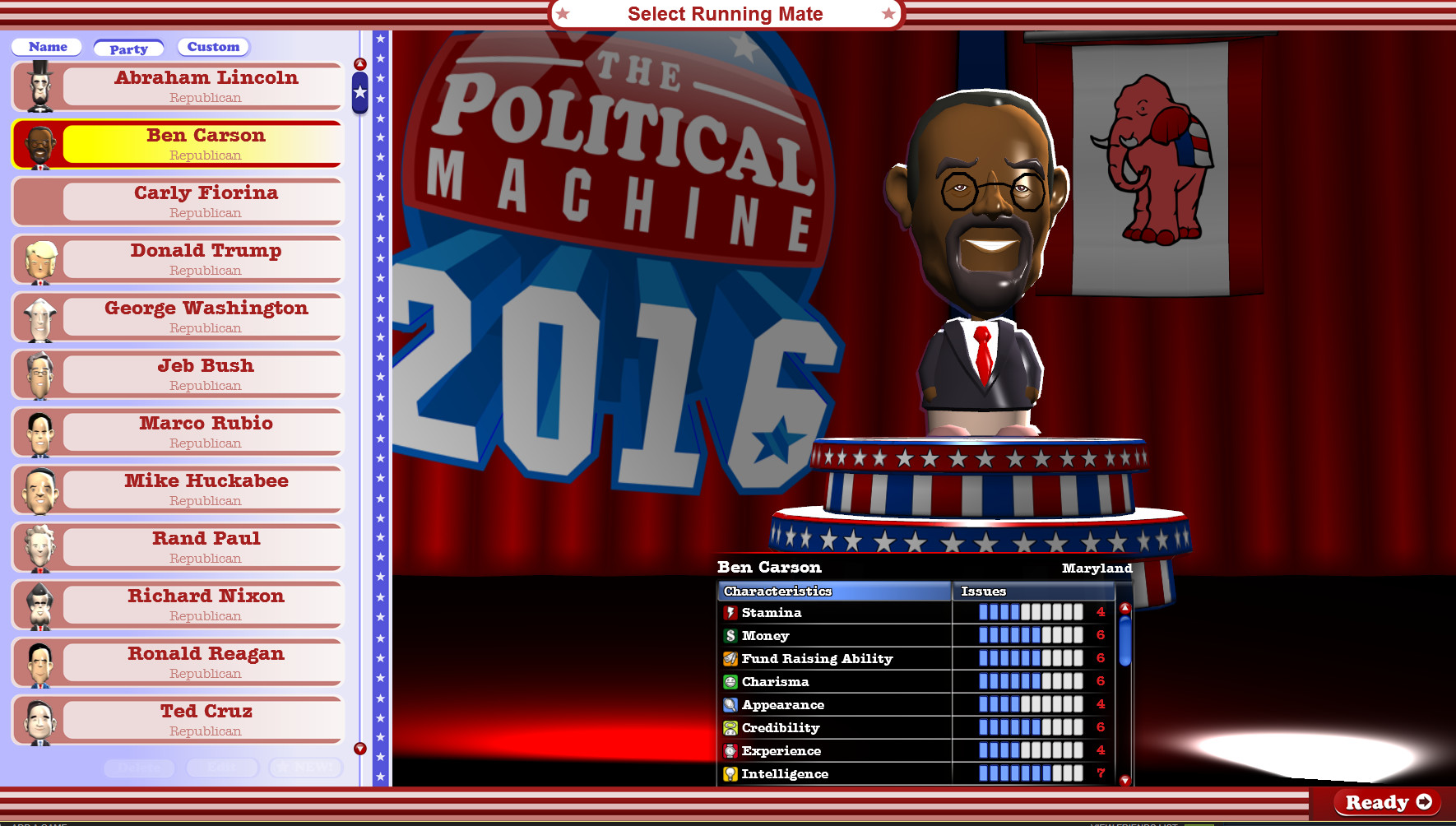 The Political Machine 2016 Review Screenshot 2