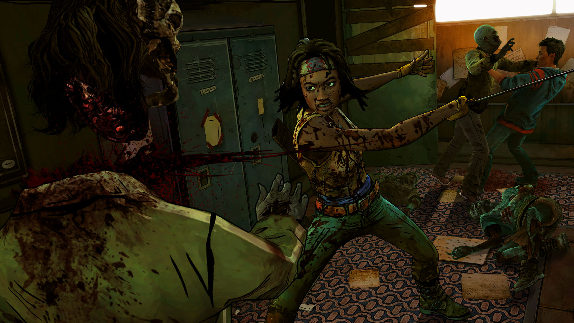 The Walking Dead Michonne A Telltale Miniseries Episode 1 In Too Deep Screenshot 1