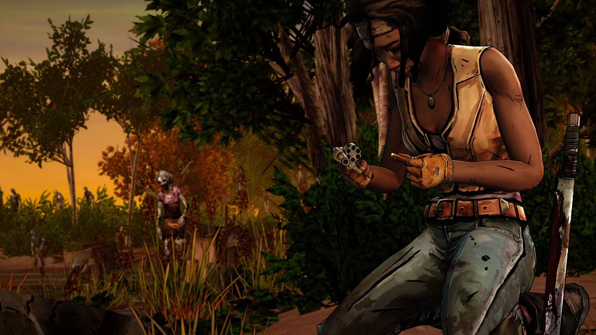 The Walking Dead Michonne A Telltale Miniseries Episode 1 In Too Deep Screenshot 2