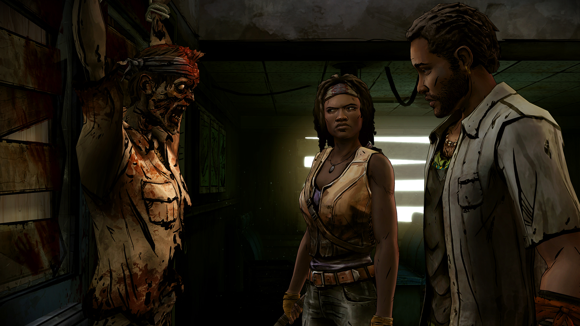 The Walking Dead Michonne A Telltale Miniseries Episode 1 In Too Deep Screenshot 3