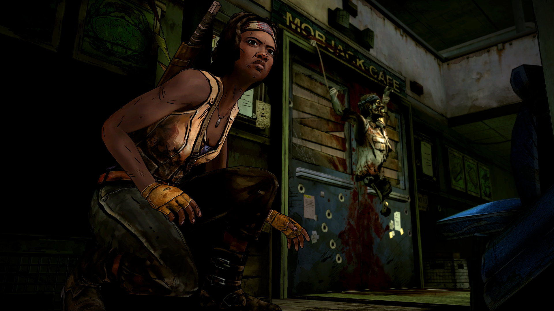 The Walking Dead Michonne Episode 1 In Too Deep Review Screenshot 1