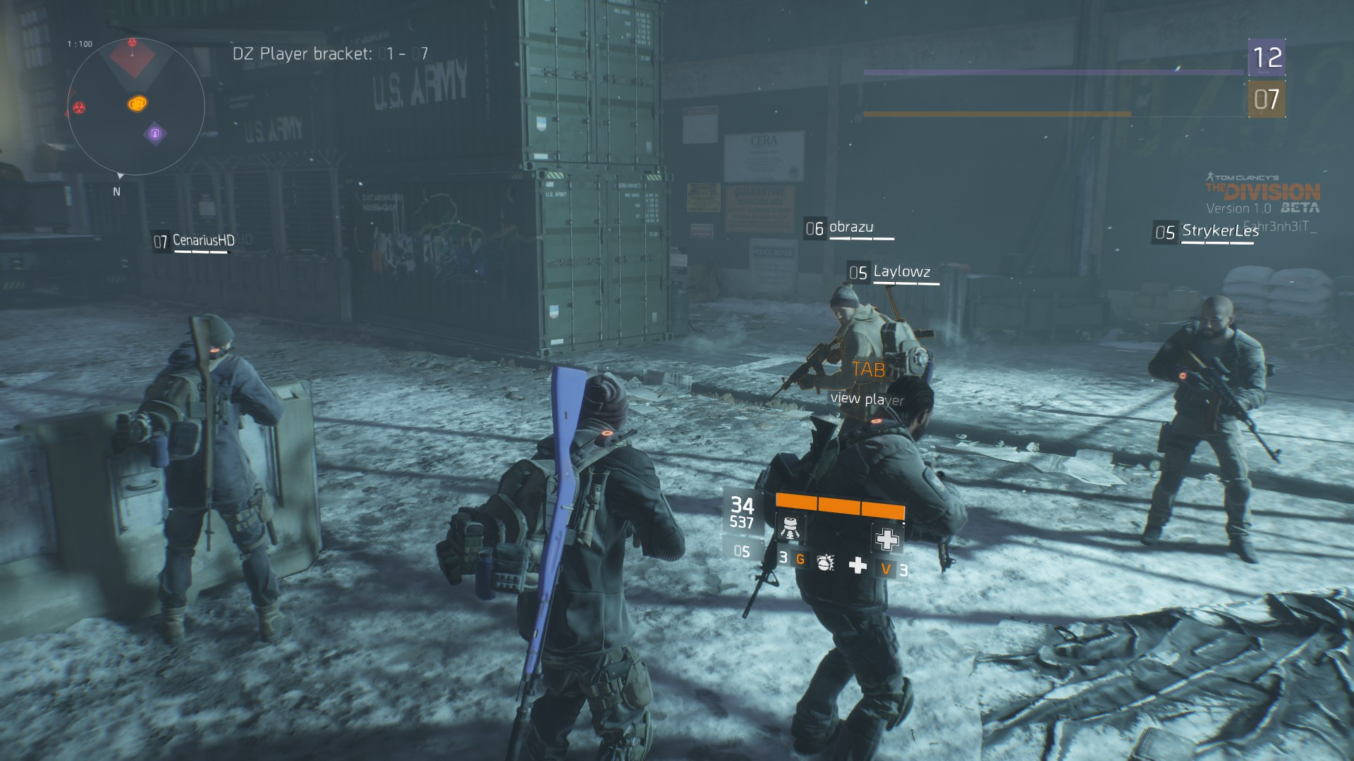 Tom Clancy's The Division Beta2016-1-31-0-7-56