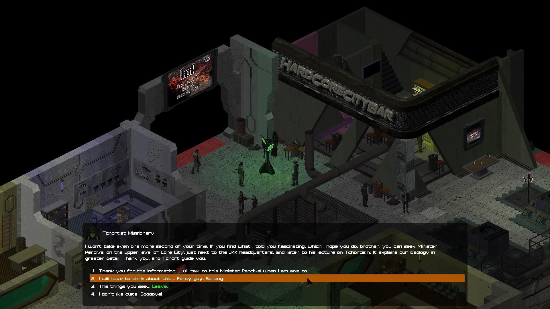 UnderRail Review Screenshot 1