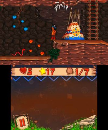 YAKARI The Mystery of Four Seasons 3DS Review Screenshot 1