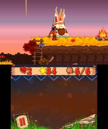 YAKARI The Mystery of Four Seasons 3DS Review Screenshot 3