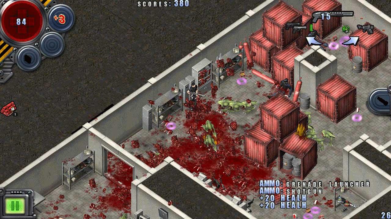 Alien Shooter Ultimate Bundle PS4 Game Review Screenshot 1