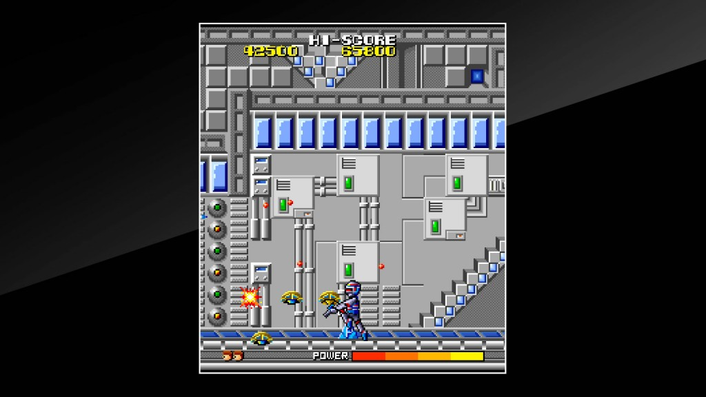 Arcade Archives Cosmo Police Galivan Review Screenshot 1