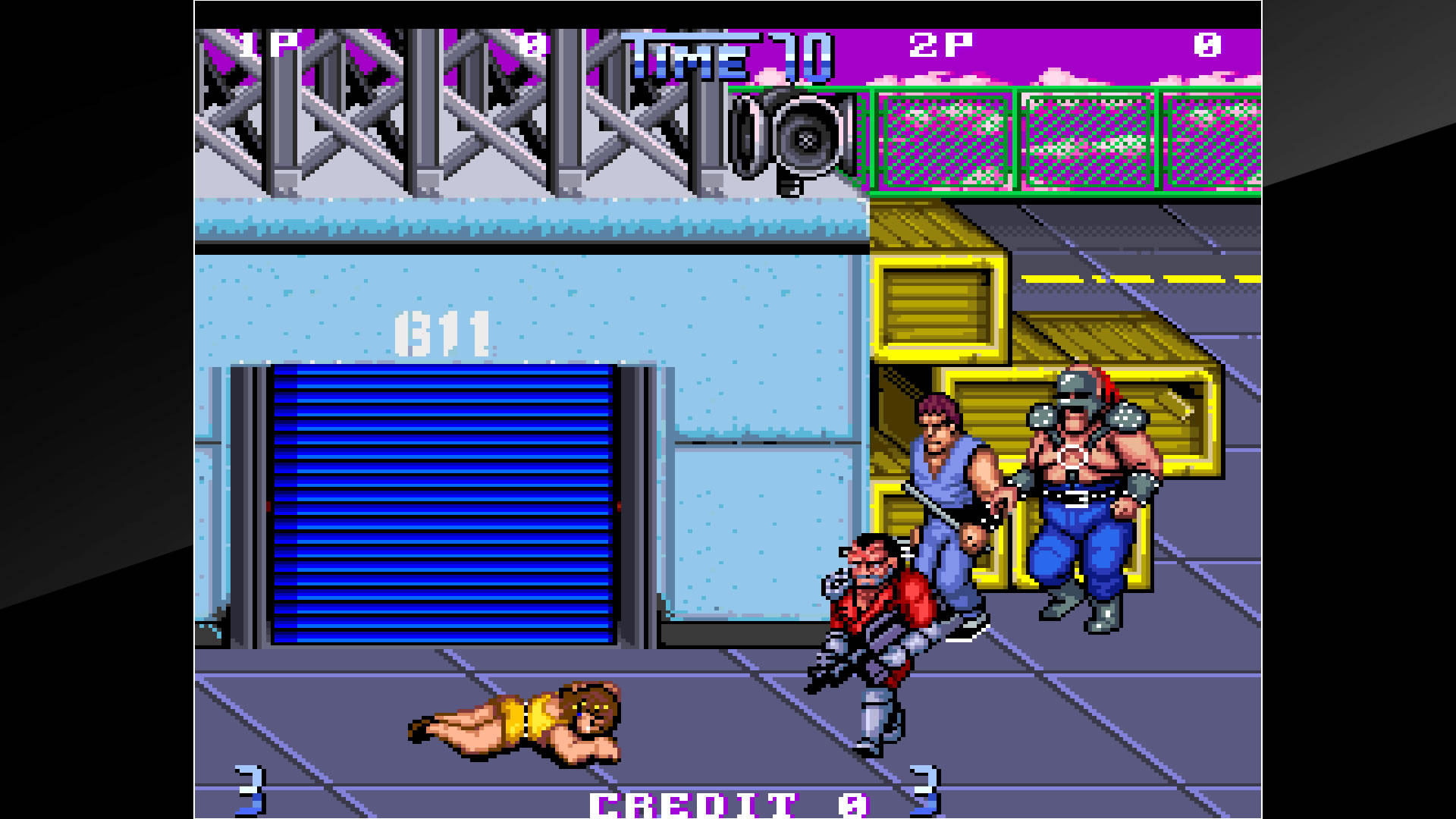 Arcade Archives DOUBLE DRAGON II The Revenge Review Screenshot 1