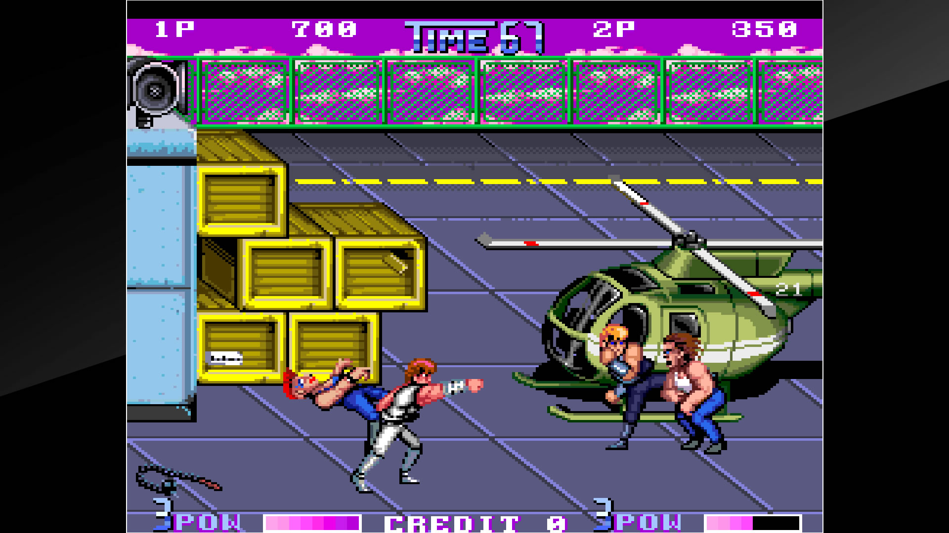 Arcade Archives DOUBLE DRAGON II The Revenge Review Screenshot 2