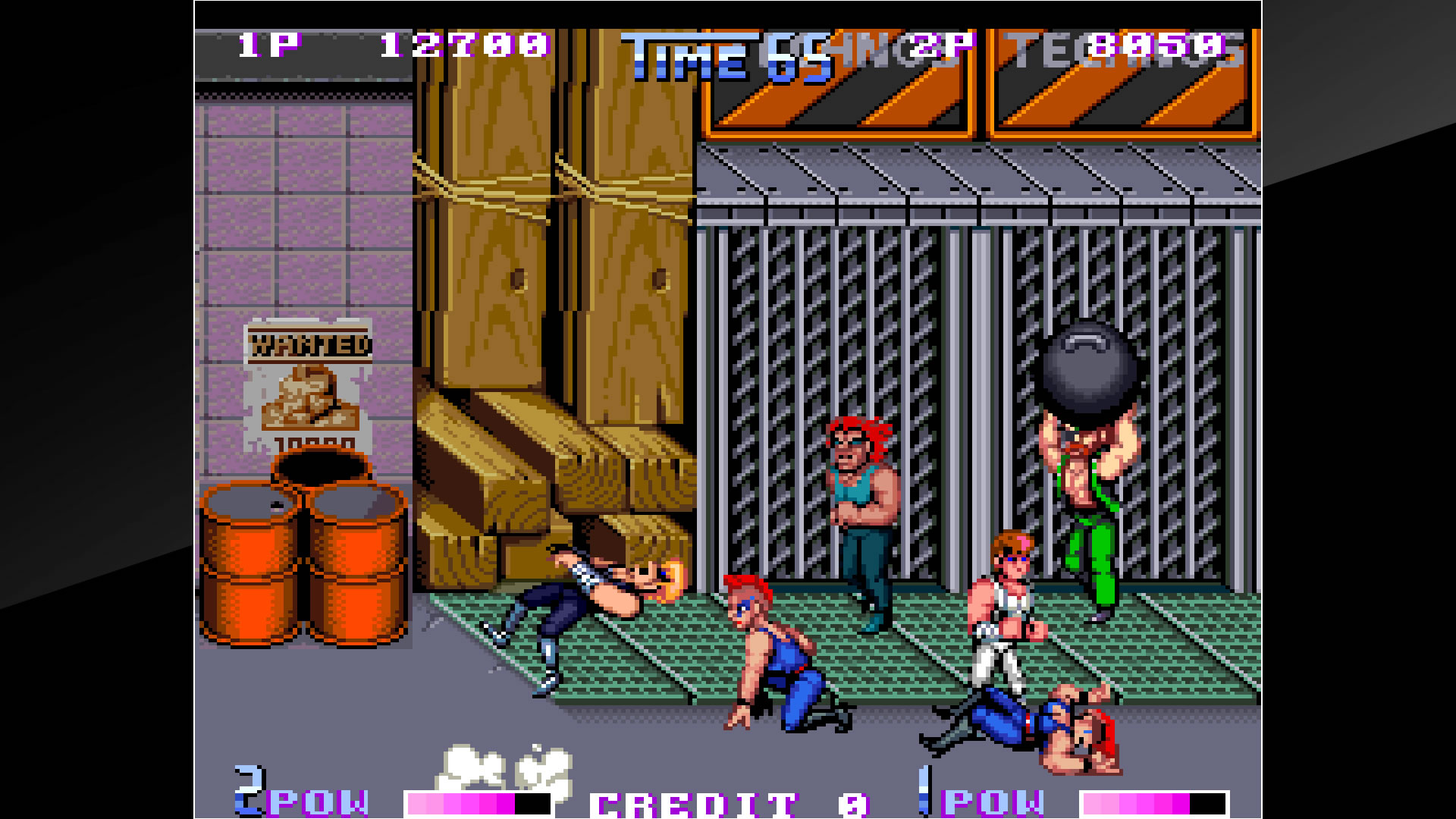 Arcade Archives DOUBLE DRAGON II The Revenge Review Screenshot 3
