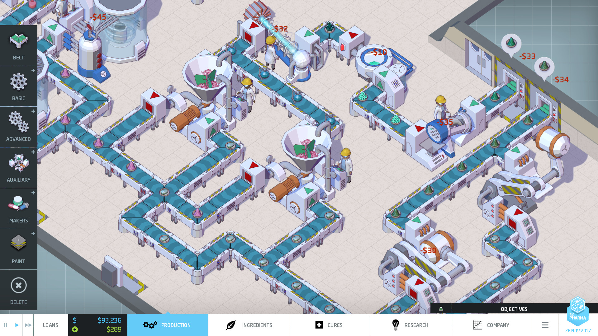 Big Pharma PC Game Review Screenshot 1