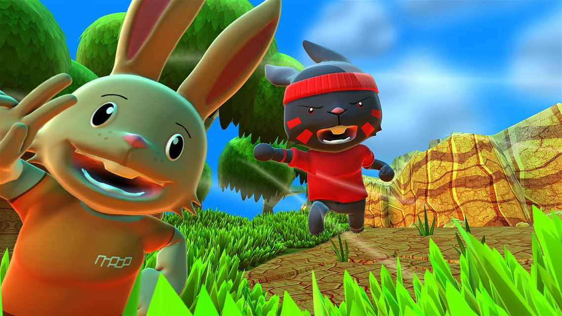 Blast 'em Bunnies Review Screenshot 2