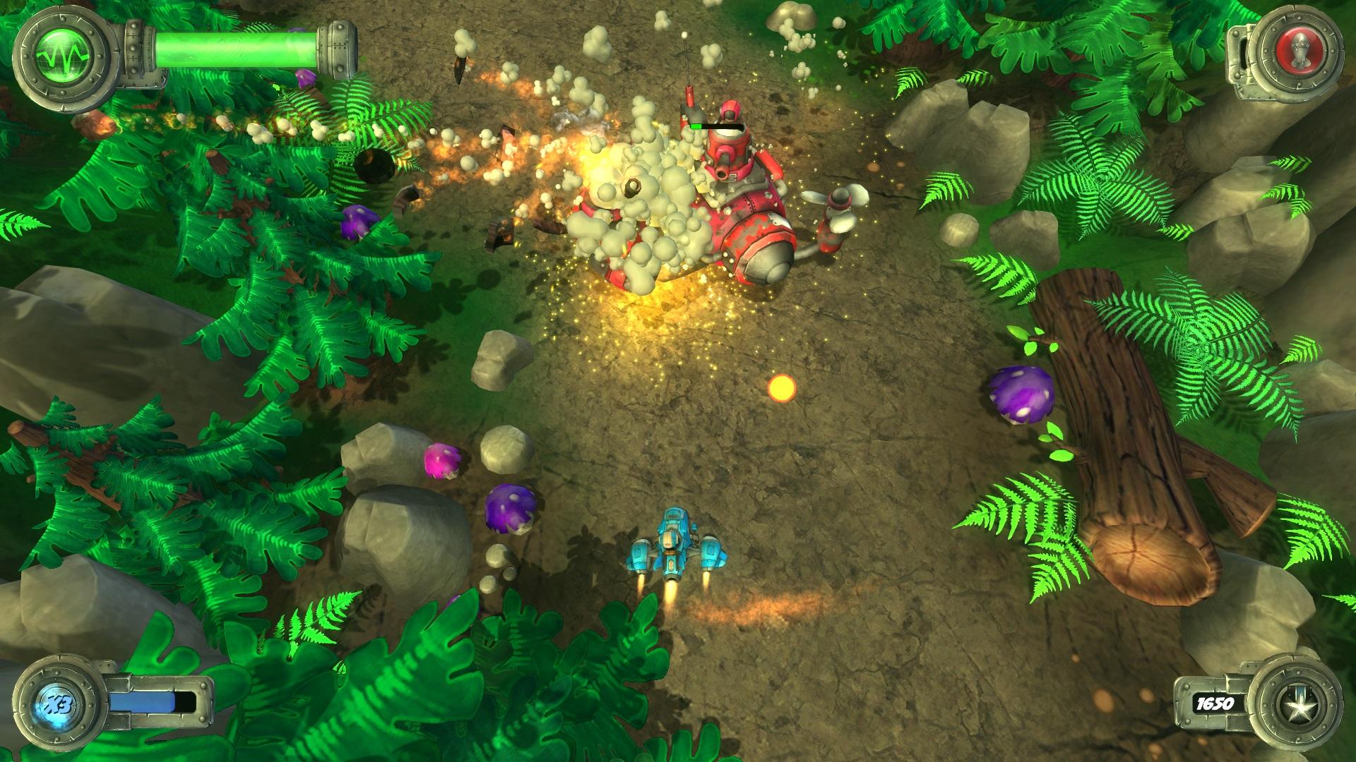 Blue Rider Review Screenshot 1