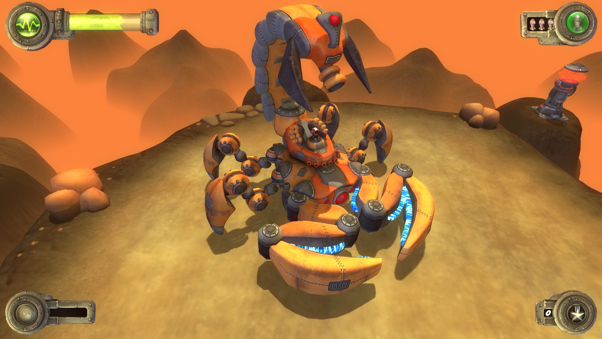 Blue Rider Review Screenshot 3