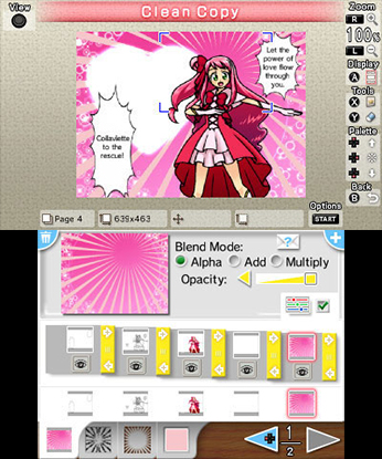 Comic Workshop 2 3DS Review Screenshot 1