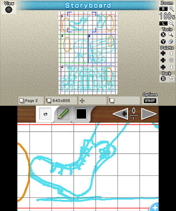 Comic Workshop 2 3DS Review Screenshot 3