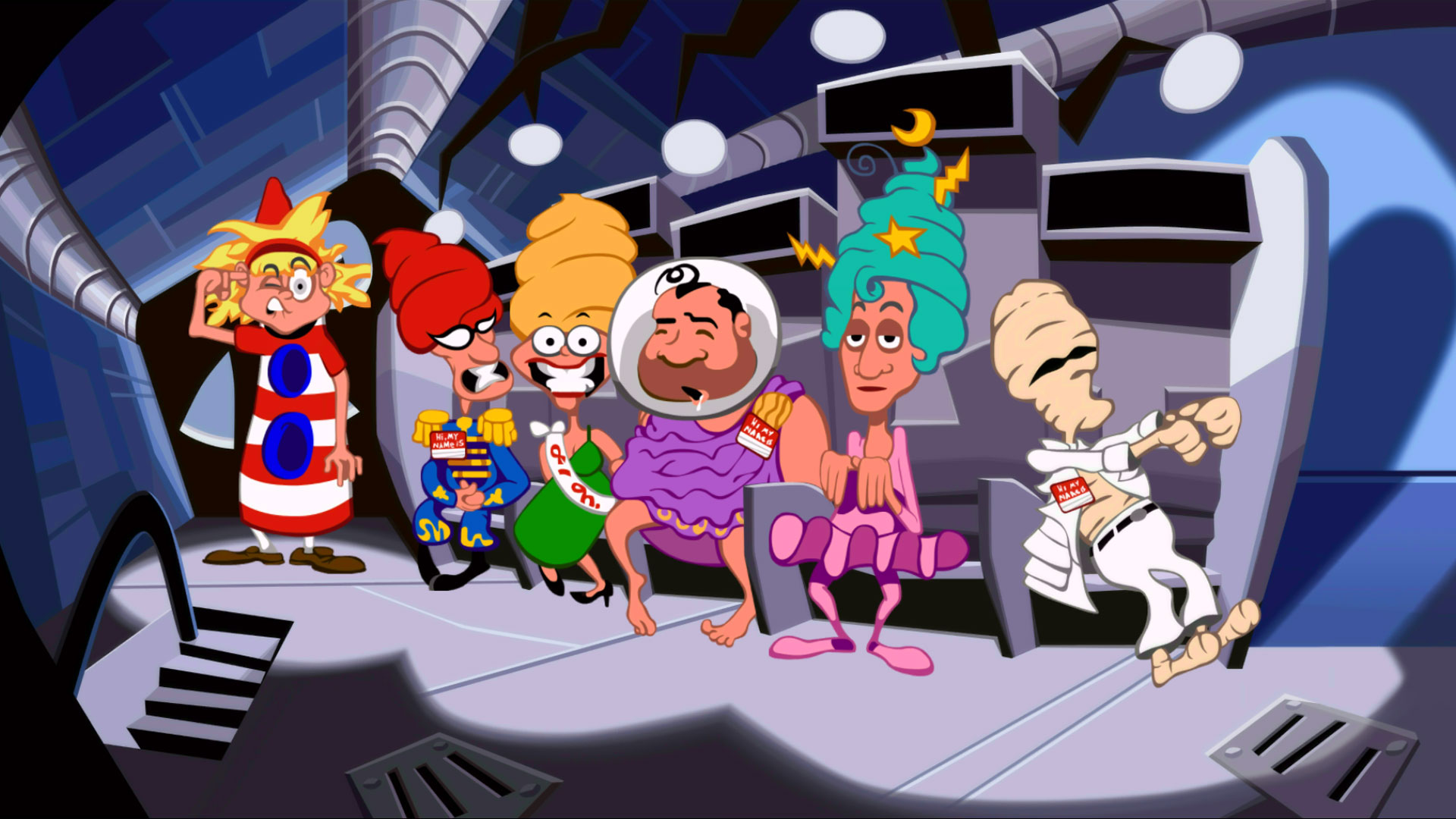 Day of the Tentacle Remastered PS4 Review Screenshot 1
