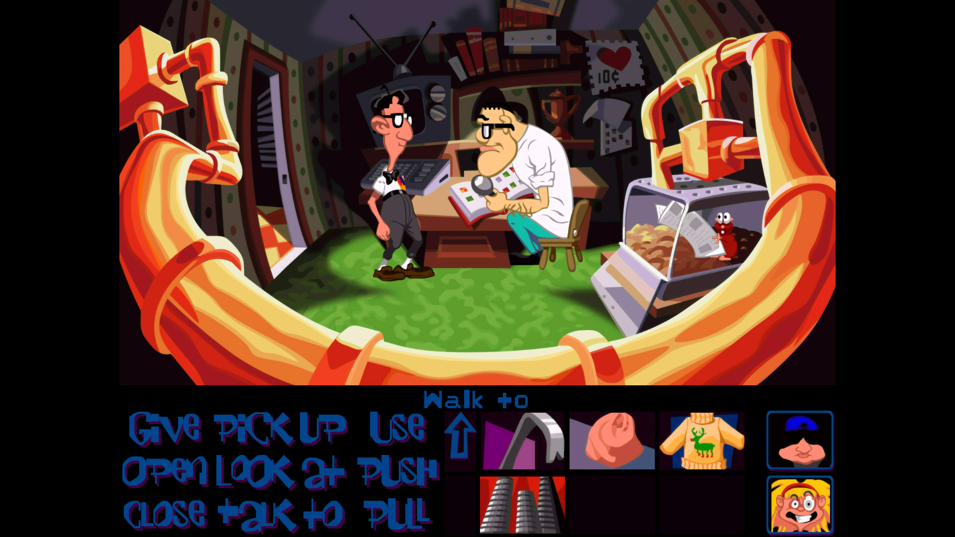 Day of the Tentacle Remastered PS4 Review Screenshot 2
