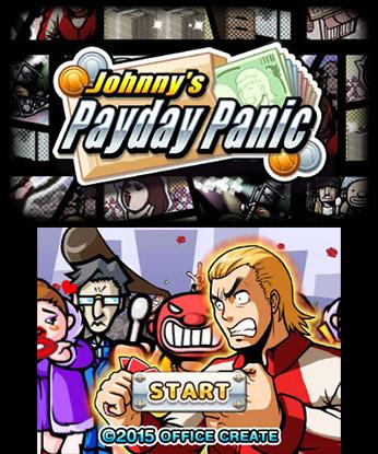 Johnnys Payday Panic 3DS Game Review Screenshot 1