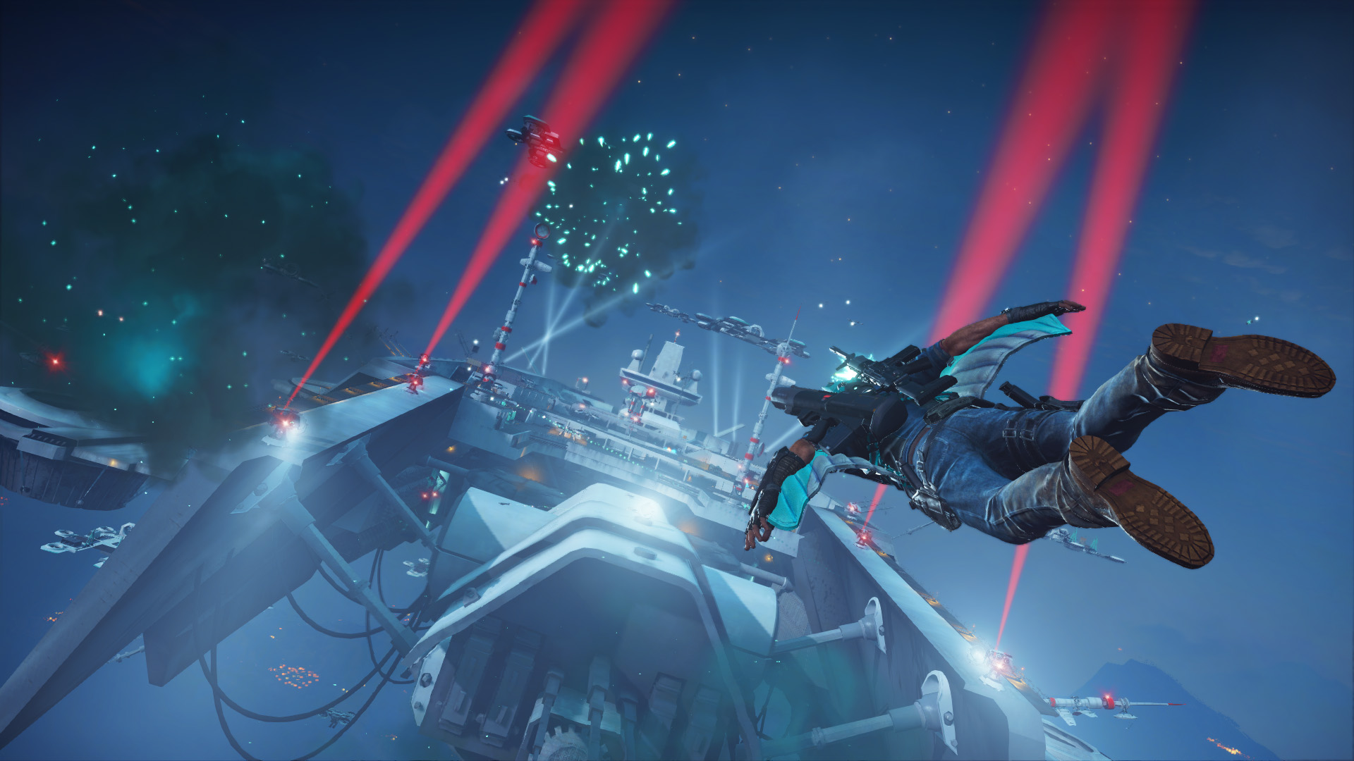 Just Cause 3 Sky Fortress Review Screenshot 1