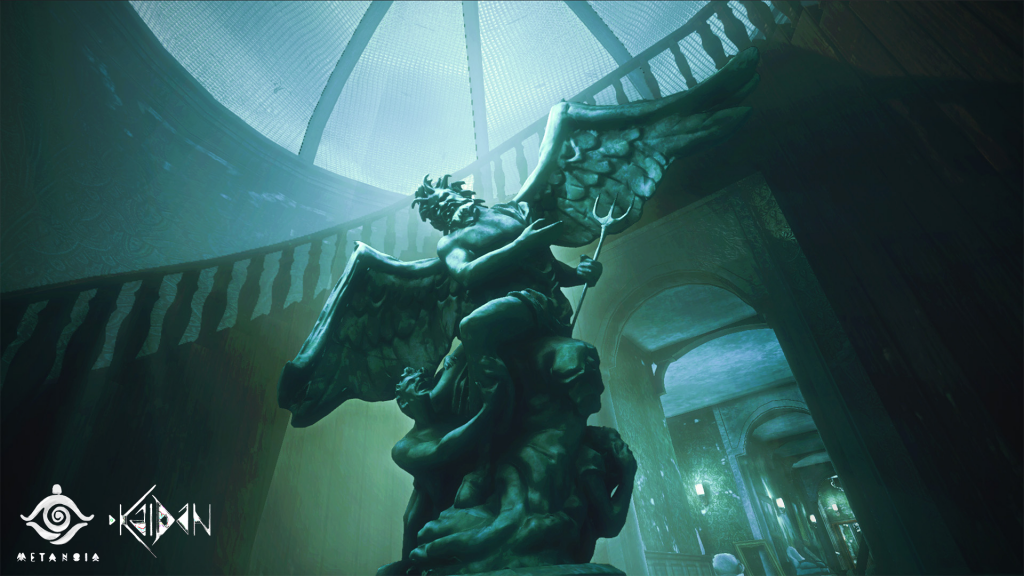 Kaidan Screenshot_Abandoned Manor_Statue