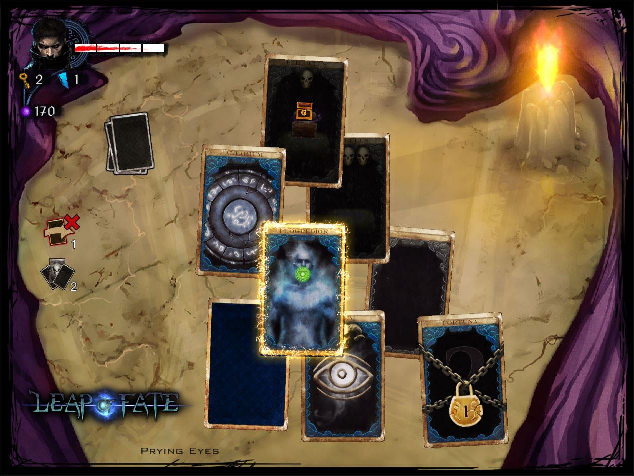 Leap of Fate Review Screenshot 1