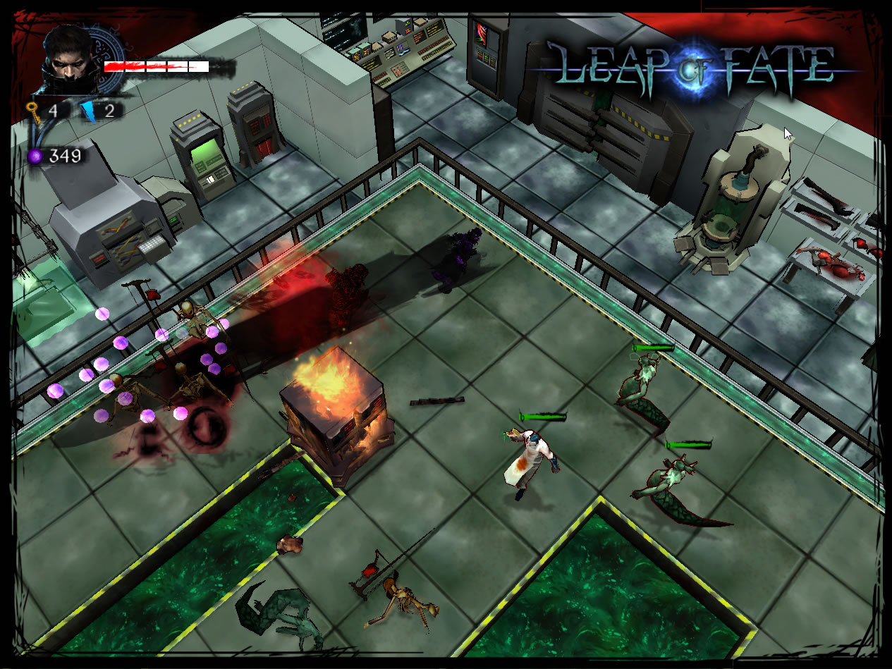 Leap of Fate Review Screenshot 2