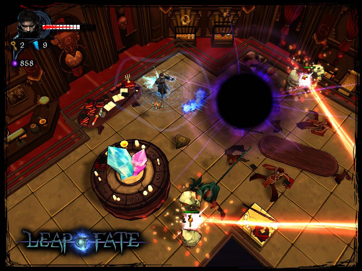 Leap of Fate Review Screenshot 3