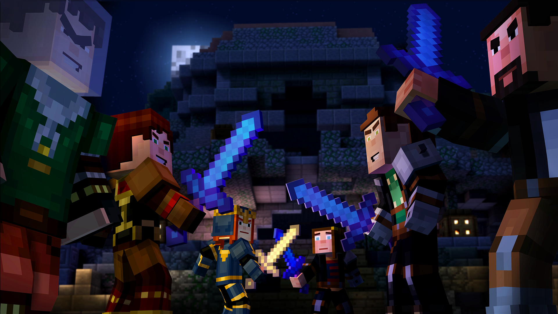 Minecraft Story Mode Episode 5 Order Up Review Blaze Rod Rumble Screenshot