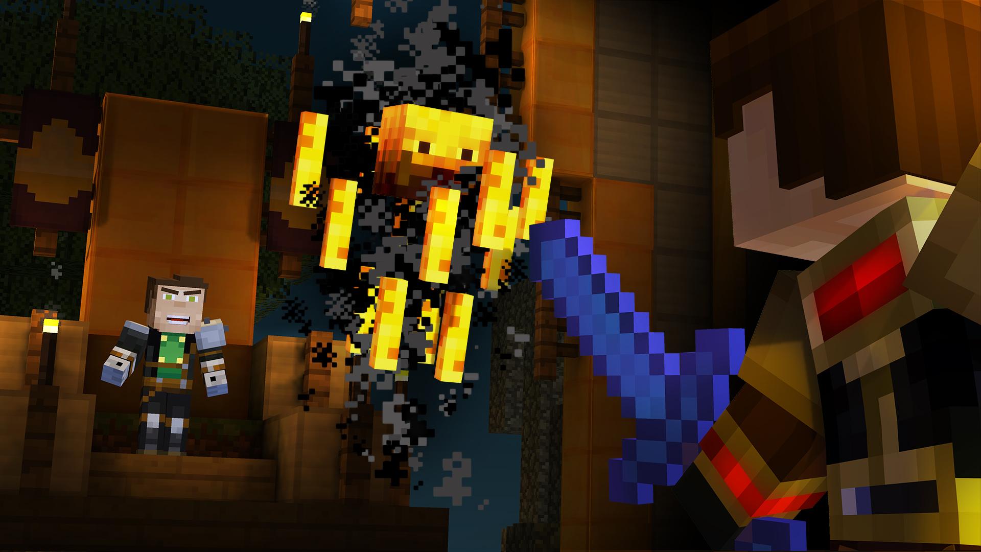 Minecraft Story Mode Episode 5 Order Up Review Blaze Screenshot