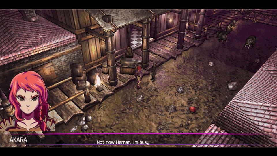 Murasaki Mist Akara's Journey Review Screenshot 1