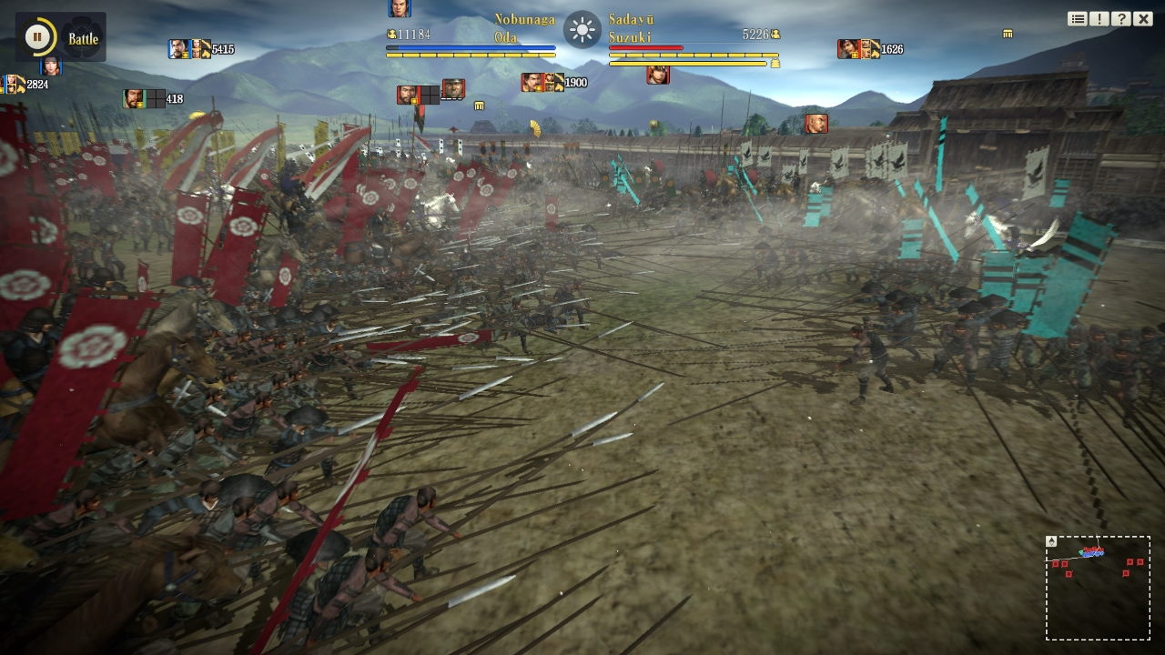 Nobunaga's Ambition Sphere of Influence Review Screenshot 1