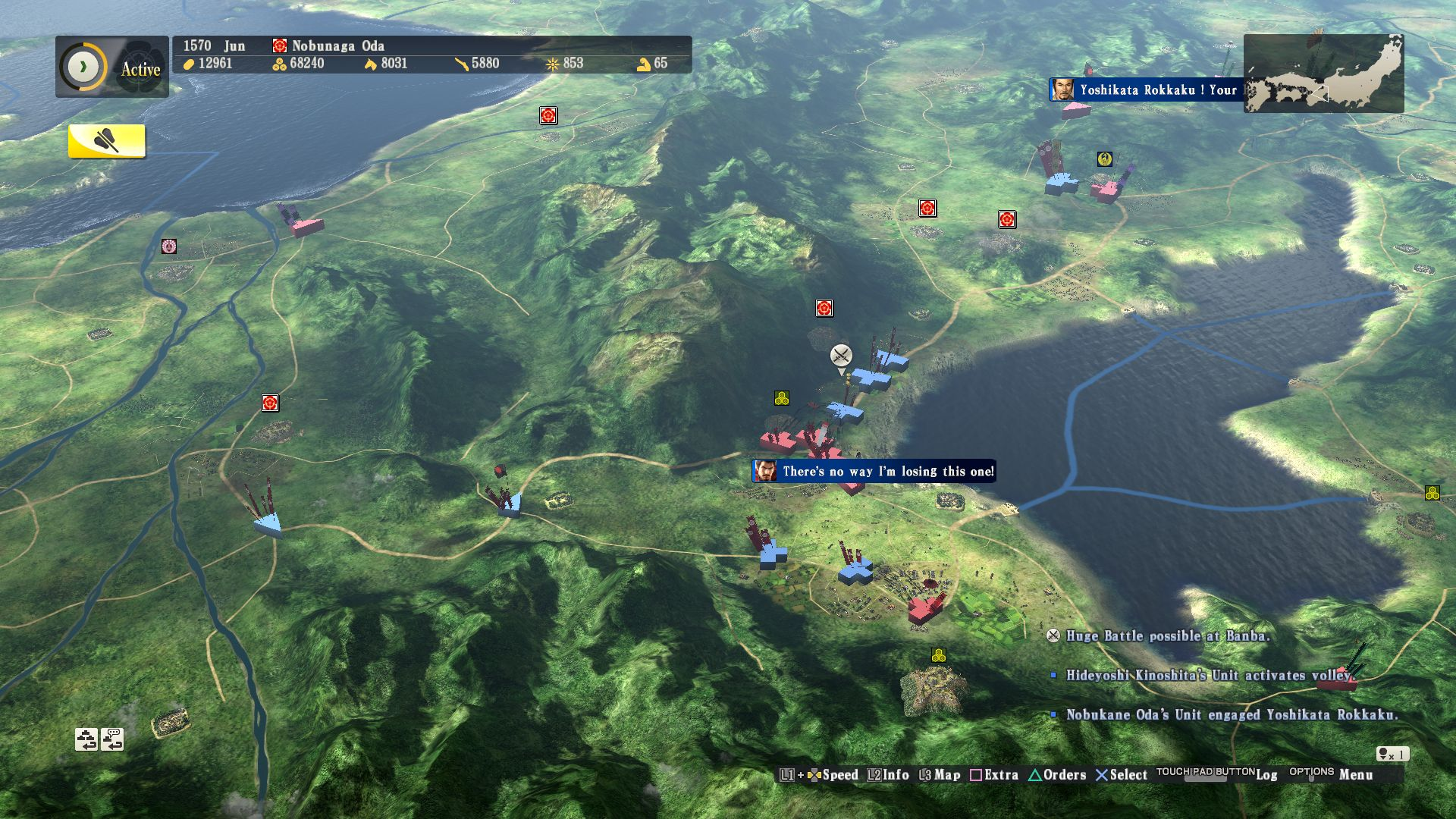 Nobunaga's Ambition Sphere of Influence Review Screenshot 3