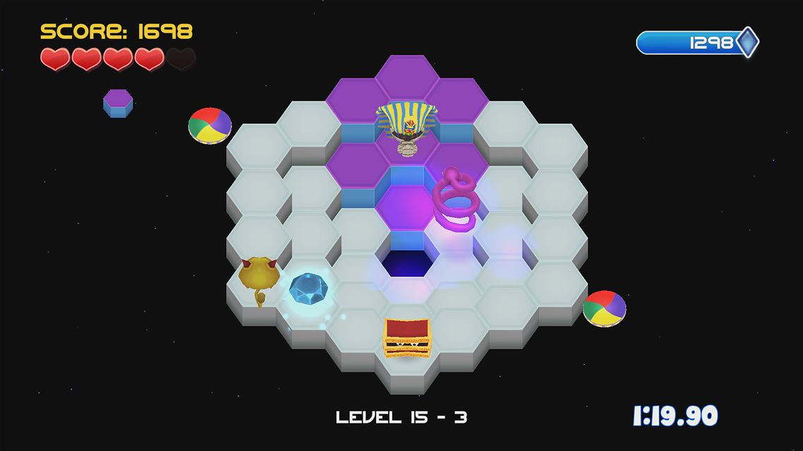 Q*bert REBOOTED- The XBOX One @!#?@! Edition Review Screenshot 1