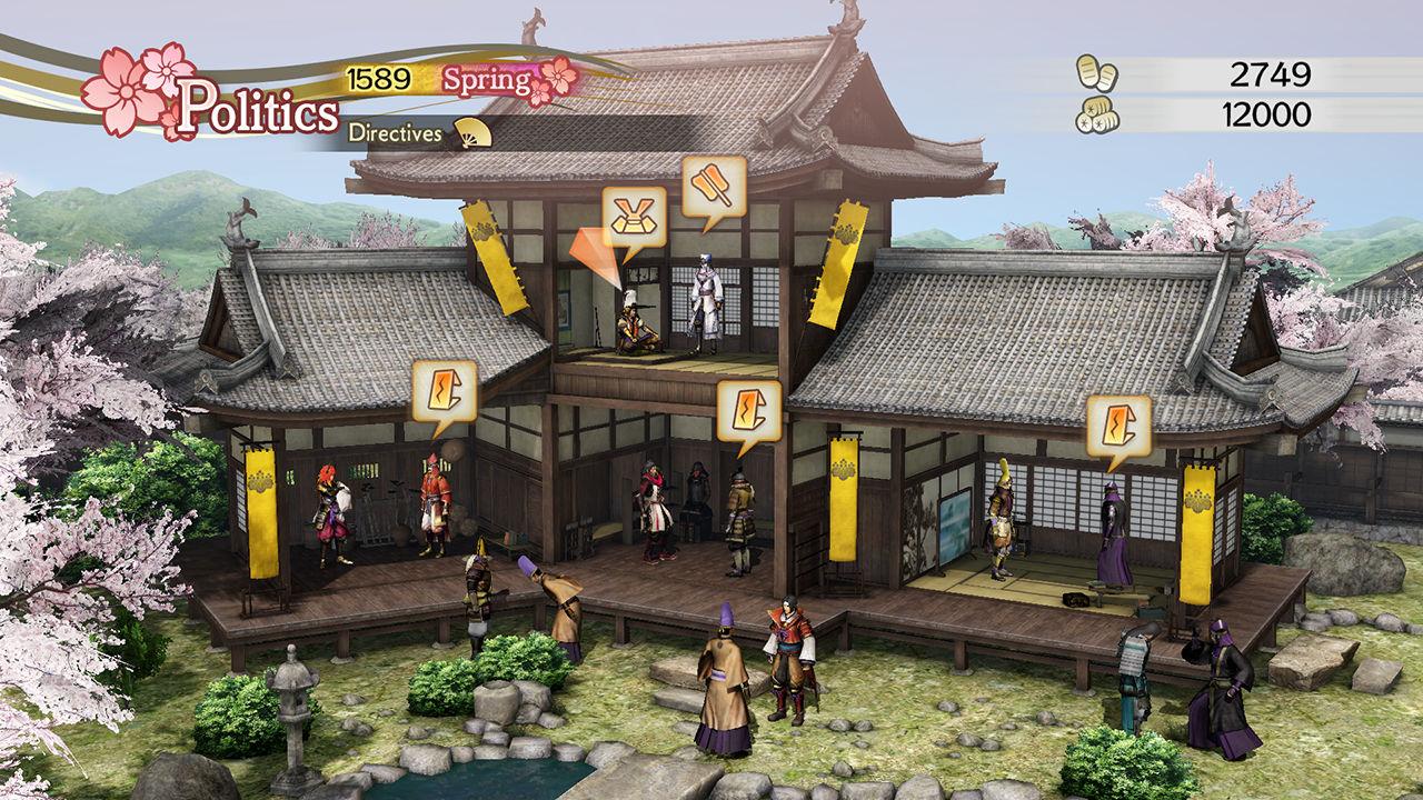Samurai Warriors 4 Empires Review Screenshot 3