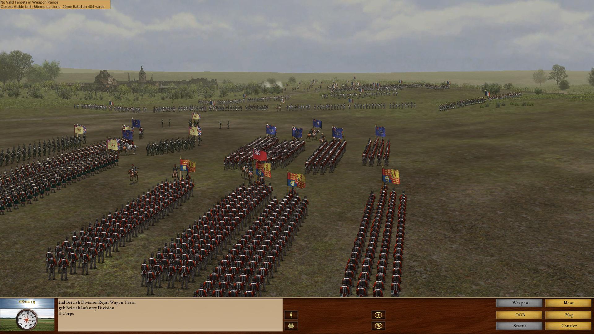 Scourge of War Waterloo Review Screenshot 1
