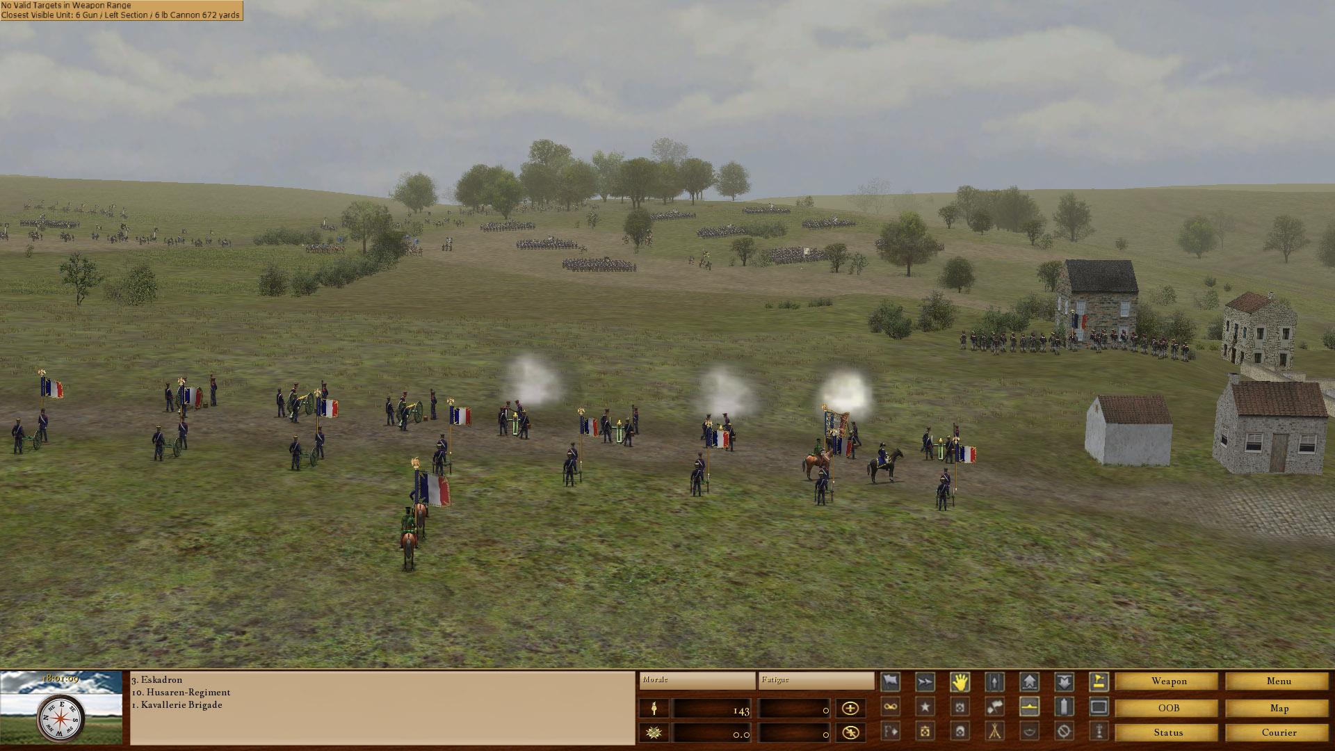 Scourge of War Waterloo Review Screenshot 3