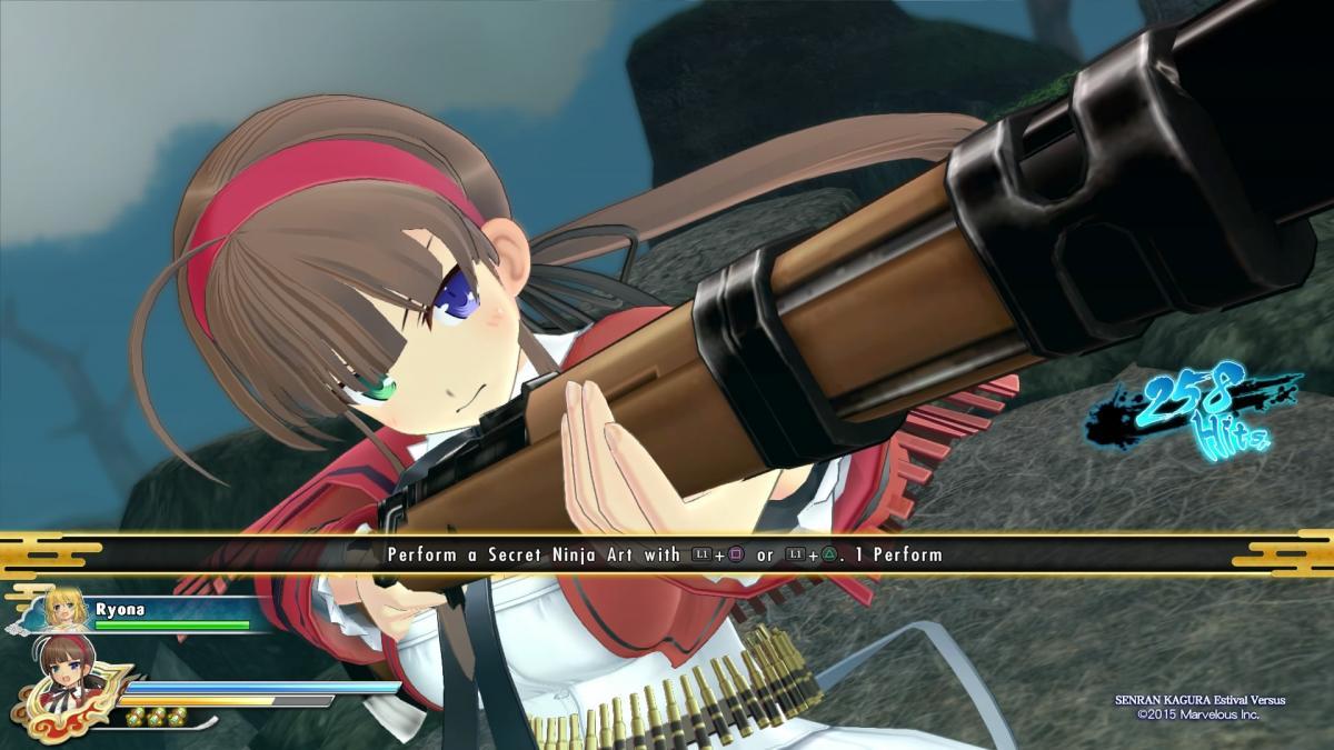 Senran Kagura Estival Versus Review Screenshot 3