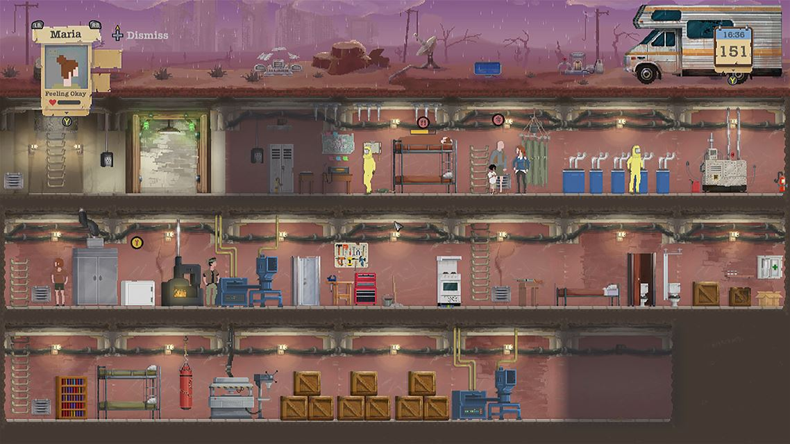 Sheltered Review Screenshot 1