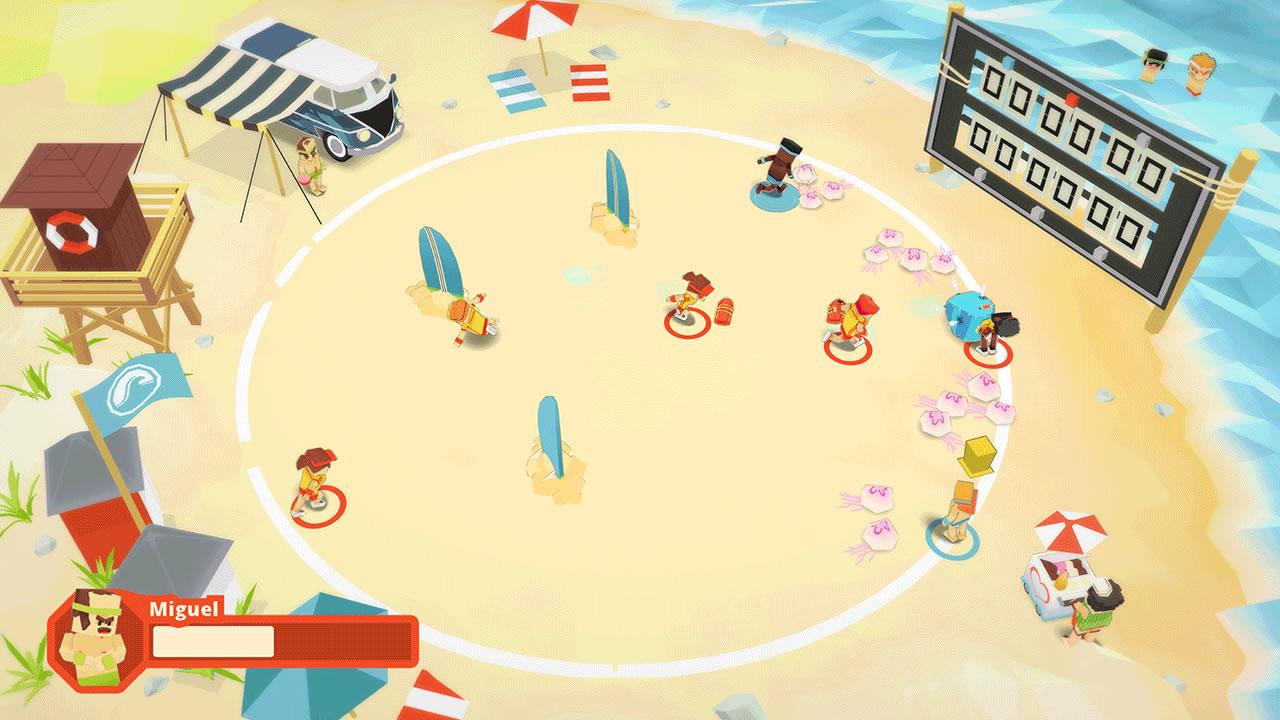 Stikbold! A Dodgeball Adventure Review Screenshot 1